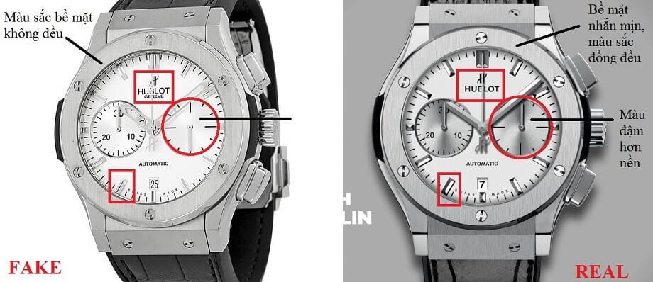 5 cách phân biệt đồng hồ Hublot chính hãng chưa chắc bạn đã biết