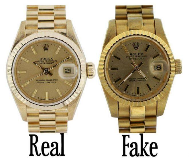 Tổng hợp những cách phần biệt đồng hồ rolex thật giả nhanh chóng