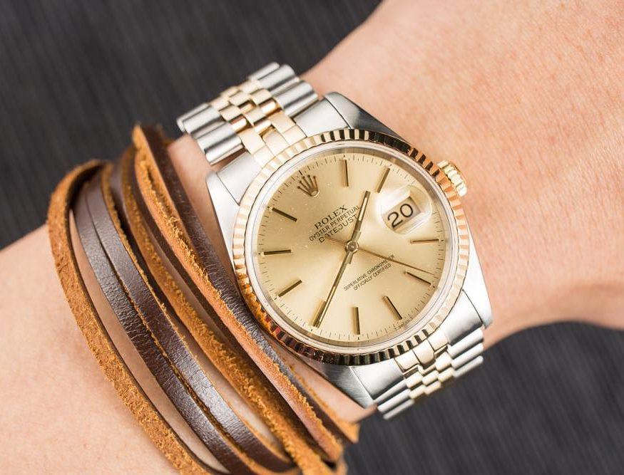 Săn đồng hồ Rolex Datejust 16233 chính hãng và những điều bạn cần biết