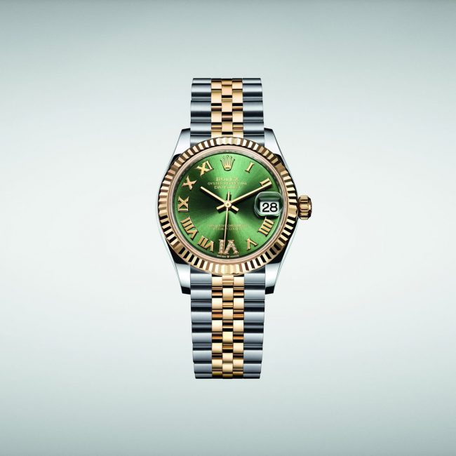 Săn lùng chiếc đồng hồ rolex nữ mặt xanh Perpetual Datejust 31