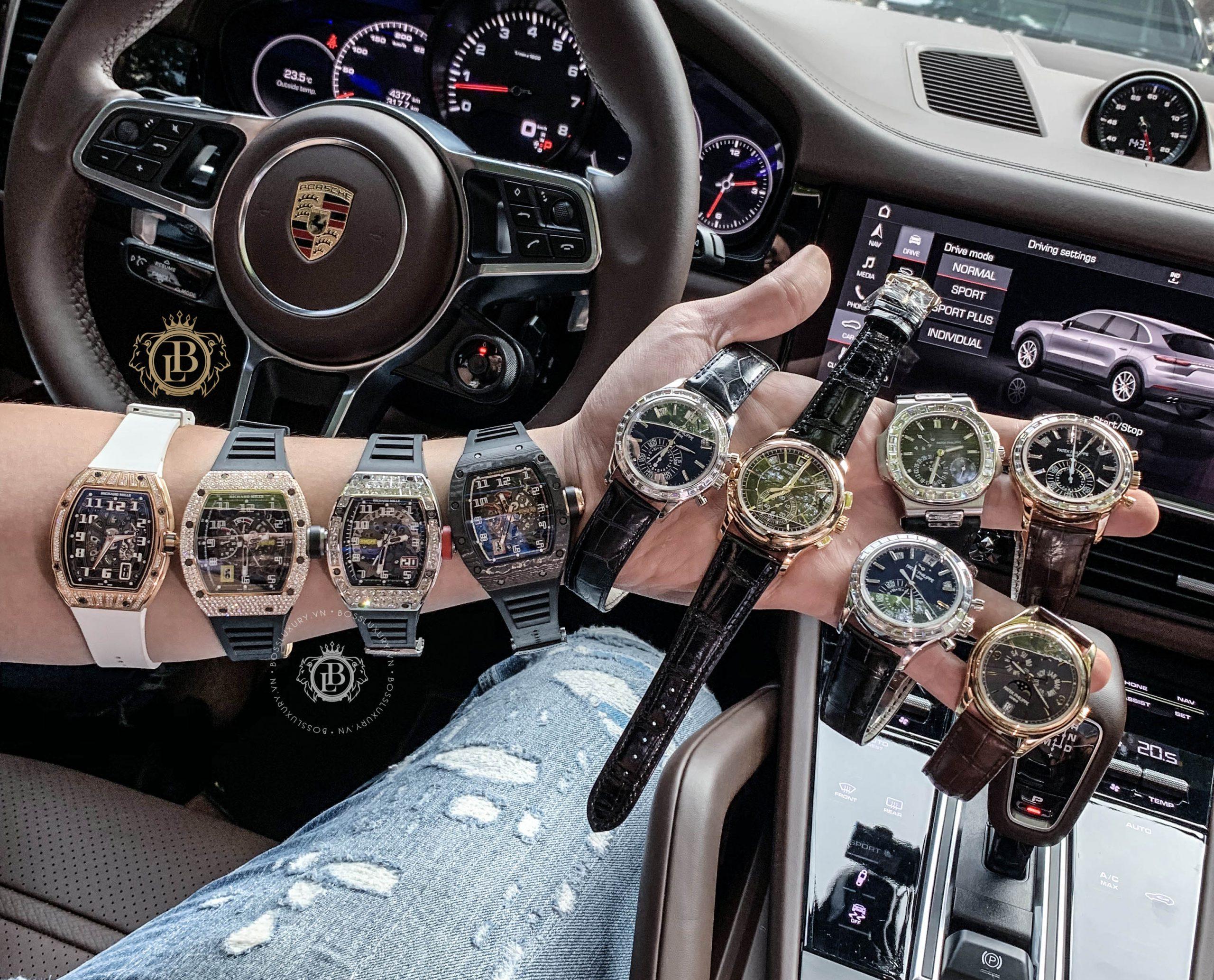 Top 5 mẫu đồng hồ Richard Mille đắt nhất thế giới