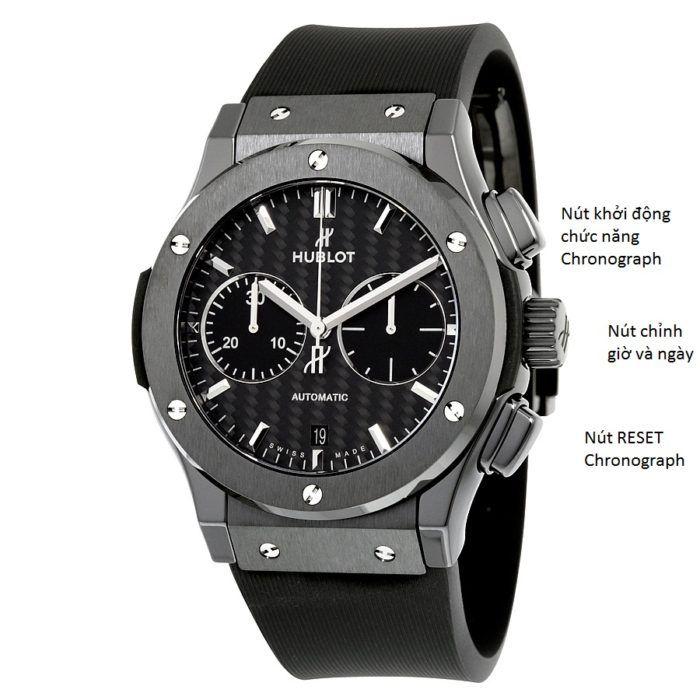 Mách bạn cách sử dụng đồng hồ Hublot đơn giản và chuẩn nhất