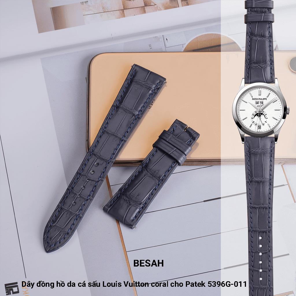 Những yếu tố làm nên thương hiệu dây da đồng hồ Patek Philippe