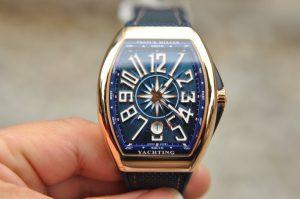 Cận cảnh chi tiết chiếc đồng hồ Franck Muller V41 Yachting