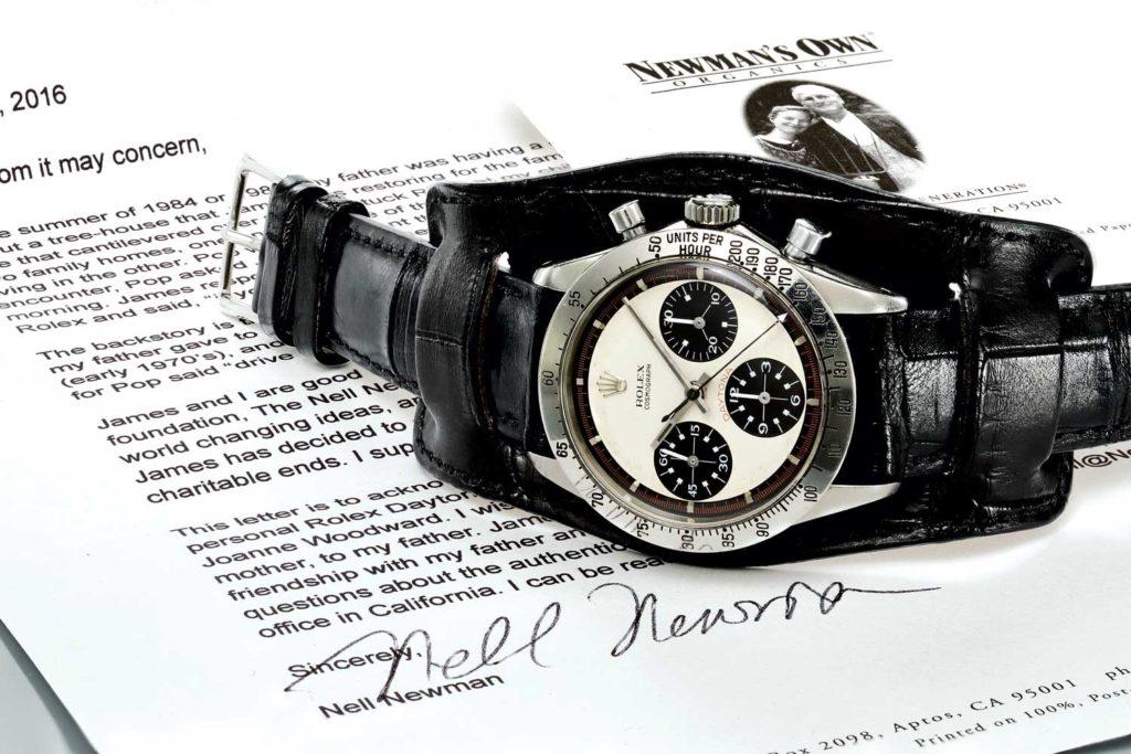 Chuyển động lịch sử trong chiếc đồng hồ Rolex Daytona do Zeniths điều khiển