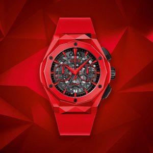 Đồng hồ Hublot Classic Fusion Chronograph Orlinksi Red Ceramic