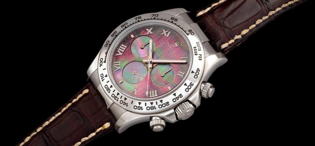 Mặt số Rolex Cosmograph Daytona 116519 'Tahitian' đặc biệt như thế nào?