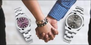5 mẫu đồng hồ đôi rolex chính hãng