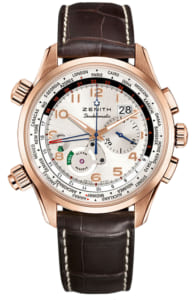 Đồng hồ Zenith vàng đúc Pilot Doublematic18.2400.4046/01.C721