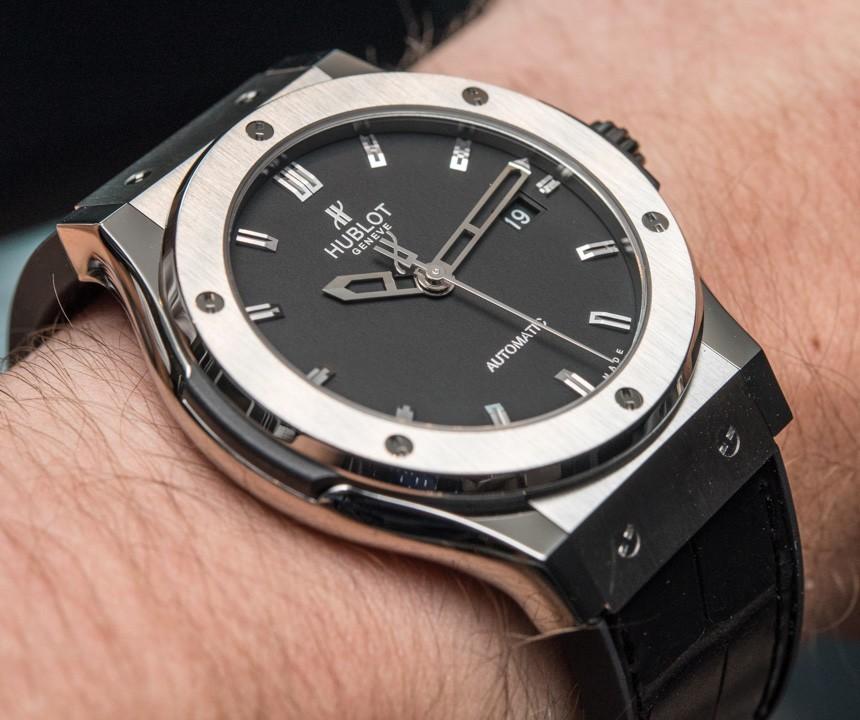 Đồng hồ Hublot Classic Fusion Titanium có giá cả phải chăng