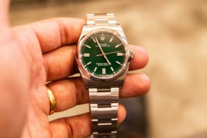 Đồng hồ nam dây kim loại Rolex Oyster
