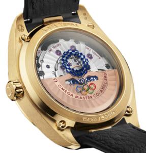 Omega ra mắt đồng hồ Seamaster Aqua Terra Tokyo 2020 bằng vàng