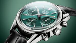 TAG Heuer ra mắt đồng hồ phiên bản đặc biệt Carrera Green